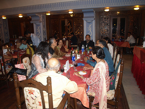 At an informal setting... (above). Photos: Edgar Silveira, Frederick Noronha, and others.