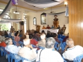 At the renovated Clube Vasco da Gama.