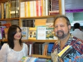Cardiology prof Dr Antonio (Tony) Gomes poses with his wife Margarida, before the Goa books section of the state's largest bookshop, Broadway Book Centre.