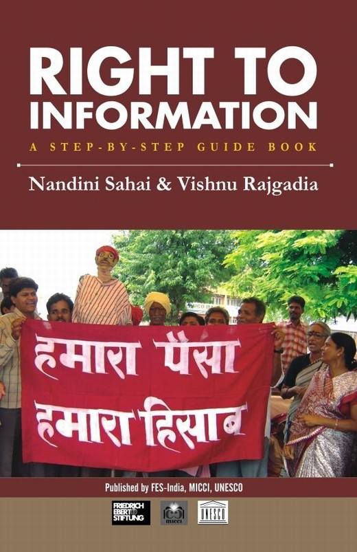 Right to Information: A Step-by-Step Guide Book